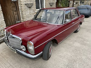 1976 Mercedes 240D (W115) 78,000 miles For Sale (picture 4 of 12)