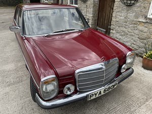 1976 Mercedes 240D (W115) 78,000 miles For Sale (picture 10 of 12)