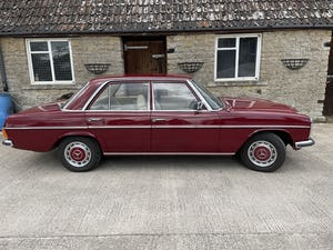 1976 Mercedes 240D (W115) 78,000 miles For Sale (picture 11 of 12)