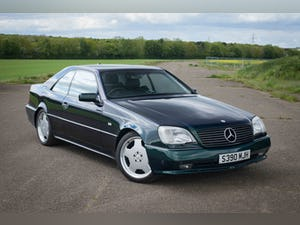 1998 Mercedes W140 CL70 CL700 AMG - UK RHD - 1 of 2 For Sale (picture 1 of 6)