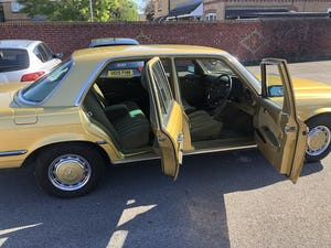 1979 Mercedes 450se S Class W116 51,000 miles For Sale (picture 1 of 12)
