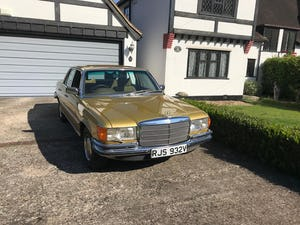 1979 Mercedes 450se S Class W116 51,000 miles For Sale (picture 4 of 12)