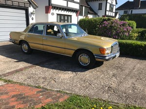 1979 Mercedes 450se S Class W116 51,000 miles For Sale (picture 5 of 12)