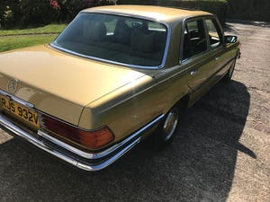 1979 Mercedes 450se S Class W116 51,000 miles For Sale (picture 6 of 12)
