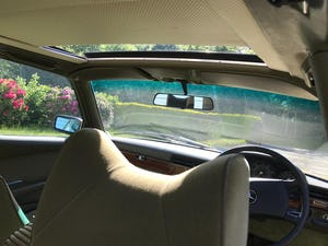 1979 Mercedes 450se S Class W116 51,000 miles For Sale (picture 8 of 12)