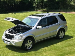 2002 Mercedes ML 55 AMG For Sale (picture 7 of 12)