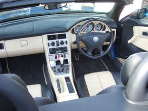 2001 Mercedes SLK320 Convertible, Lazulite Blue For Sale (picture 8 of 12)
