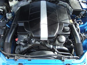 2001 Mercedes SLK320 Convertible, Lazulite Blue For Sale (picture 12 of 12)