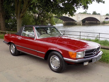 Picture of 1976 Mercedes 350SL Sports Convertible - Only 62,000 Miles! For Sale