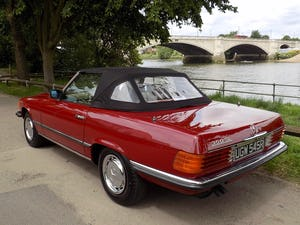 1976 Mercedes 350SL Sports Convertible - Only 62,000 Miles! For Sale (picture 2 of 50)