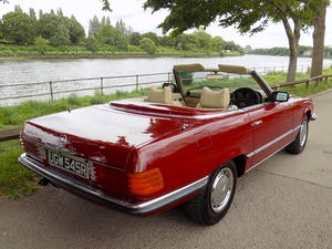 1976 Mercedes 350SL Sports Convertible - Only 62,000 Miles! For Sale (picture 4 of 50)