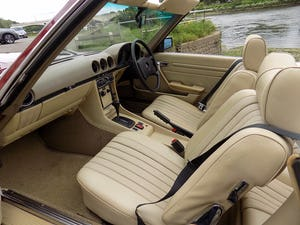 1976 Mercedes 350SL Sports Convertible - Only 62,000 Miles! For Sale (picture 5 of 50)