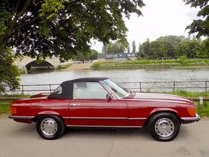 1976 Mercedes 350SL Sports Convertible - Only 62,000 Miles! For Sale (picture 10 of 50)