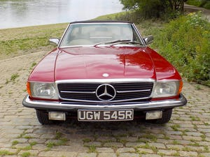 1976 Mercedes 350SL Sports Convertible - Only 62,000 Miles! For Sale (picture 13 of 50)