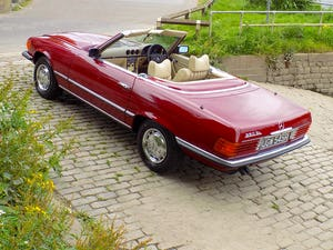 1976 Mercedes 350SL Sports Convertible - Only 62,000 Miles! For Sale (picture 23 of 50)