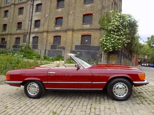 1976 Mercedes 350SL Sports Convertible - Only 62,000 Miles! For Sale (picture 24 of 50)