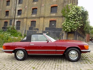 1976 Mercedes 350SL Sports Convertible - Only 62,000 Miles! For Sale (picture 26 of 50)