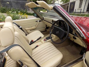 1976 Mercedes 350SL Sports Convertible - Only 62,000 Miles! For Sale (picture 39 of 50)