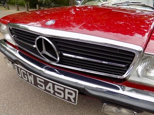 1976 Mercedes 350SL Sports Convertible - Only 62,000 Miles! For Sale (picture 44 of 50)
