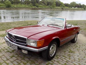 1976 Mercedes 350SL Sports Convertible - Only 62,000 Miles! For Sale (picture 45 of 50)