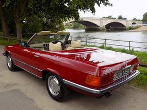 1976 Mercedes 350SL Sports Convertible - Only 62,000 Miles! For Sale (picture 49 of 50)