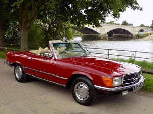 1976 Mercedes 350SL Sports Convertible - Only 62,000 Miles! For Sale (picture 50 of 50)