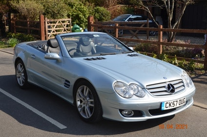 Picture of 2007 Mercedes-Benz SL350 (R230) - NO RESERVE For Sale by Auction