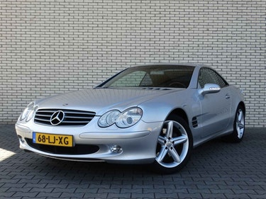 Picture of 2002 Mercedes SL500, Mercedes Convertible, Mercedes Cabriolet For Sale