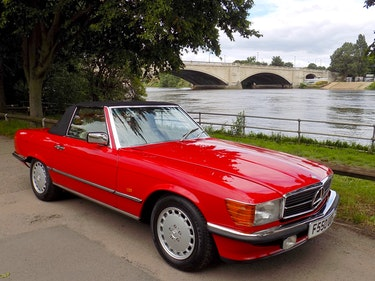Picture of 1989 Mercedes Benz 300 SL Sports Convertible For Sale