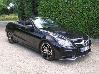 Picture of 2013 Mercedes-Benz E Class 2.1 E220 CDI AMG Sport Cabriolet 7G-T For Sale