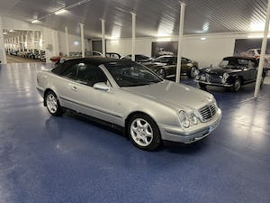 1999 Mercedes CLK 320 Elegance Cabriolet 50,000 Miles from New For Sale (picture 1 of 8)