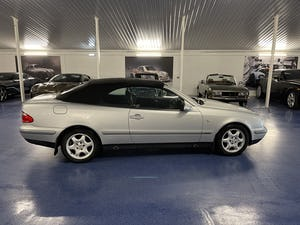 1999 Mercedes CLK 320 Elegance Cabriolet 50,000 Miles from New For Sale (picture 2 of 8)