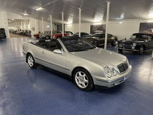 1999 Mercedes CLK 320 Elegance Cabriolet 50,000 Miles from New For Sale (picture 3 of 8)