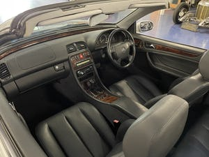 1999 Mercedes CLK 320 Elegance Cabriolet 50,000 Miles from New For Sale (picture 7 of 8)