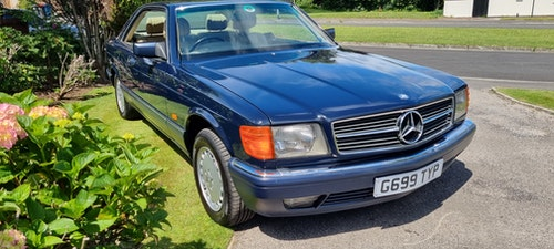 Picture of 1989 Superb w126 420 sec mercedes For Sale