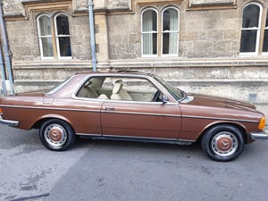 1978 Mercedes pillarless coupe 280ce For Sale (picture 1 of 11)