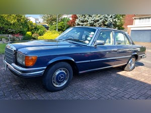 1980 Mercedes W116 S Class 280SE For Sale (picture 2 of 12)