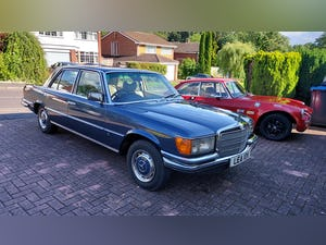 1980 Mercedes W116 S Class 280SE For Sale (picture 3 of 12)