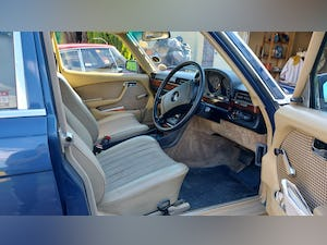 1980 Mercedes W116 S Class 280SE For Sale (picture 5 of 12)
