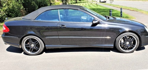 Picture of 2003 Mercedes-Benz CLK 55 AMG Convertible For Sale