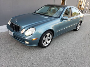 Picture of 2003 Mercedes Benz E500 Sedan 1 Owner Jade(~)Tan $11.5k For Sale