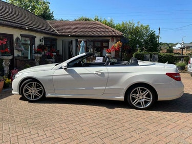 Picture of 2011 Mercedes E220 Sports ED125 CDI Blue-cya Convertible For Sale