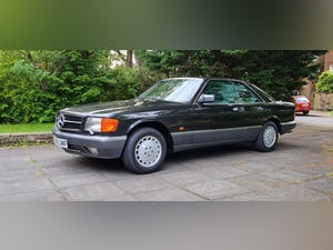 1989 Mercedes 420 SEC  in Excellent Condition For Sale (picture 3 of 12)