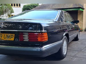 1989 Mercedes 420 SEC  in Excellent Condition For Sale (picture 6 of 12)
