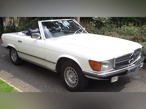 1976 Mercedes 350SL V8 auto £22.5k restoration in 2019 For Sale (picture 1 of 12)