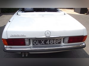 1976 Mercedes 350SL V8 auto £22.5k restoration in 2019 For Sale (picture 2 of 12)