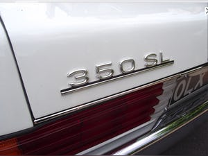 1976 Mercedes 350SL V8 auto £22.5k restoration in 2019 For Sale (picture 3 of 12)
