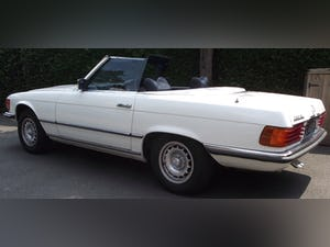 1976 Mercedes 350SL V8 auto £22.5k restoration in 2019 For Sale (picture 4 of 12)