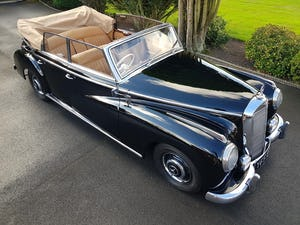 1953 MERCEDES BENZ 300 CABRIOLET 'ADENAUER' (RARE RHD EXAMPLE) For Sale (picture 1 of 12)