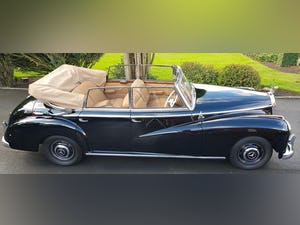 1953 MERCEDES BENZ 300 CABRIOLET 'ADENAUER' (RARE RHD EXAMPLE) For Sale (picture 2 of 12)